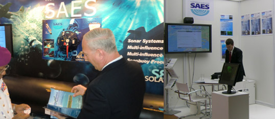 SAES Stand